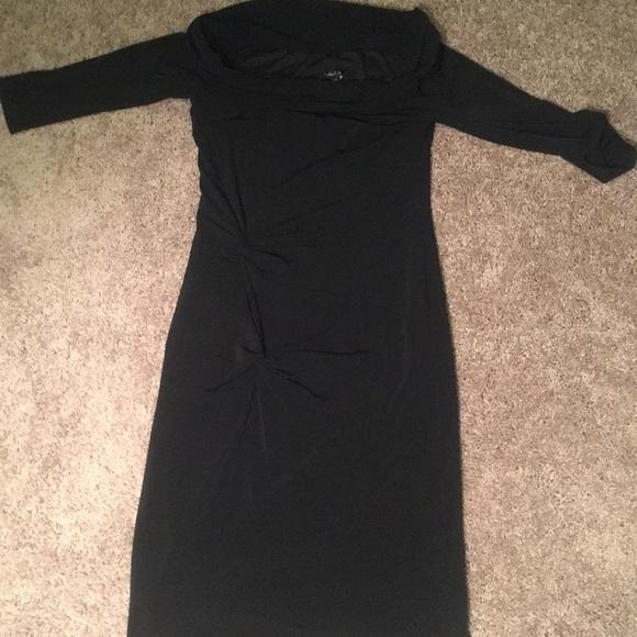 Laundry By Shelli Segal Dresses & Skirts - Black off the shoulder dress